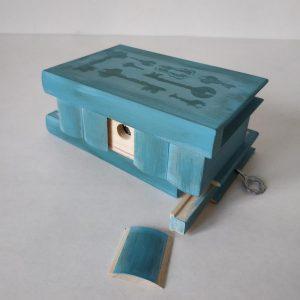 Kerékgyártó Emese - E-Sublót - Titkos doboz (kulcsok)
