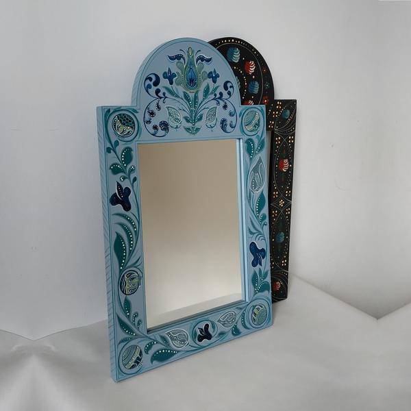 Kerékgyártó Emese - E-Sublót - Festett tükörkeretek